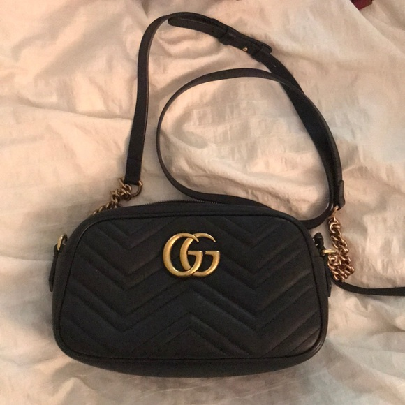 c91cf6e515b4 Gucci Bags | Gg Marmont Small Shoulder Bag | Poshmark